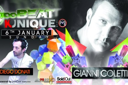 "Kunique ""RADIO SHOW"" (Radio M2O) January 06th-2013 On Air ""GIANNI COLETTI&Diego Donati"""