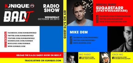 Kunique Badj Radio M2o Wednesday October 30 Special Guest On Air Syke'nSugarstarr & Mike Dem