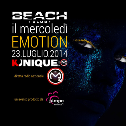 Kunique Radio M2O Live From Beach Club(Versilia) Wednesday July 23