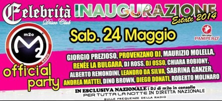 Kunique M2O Live @ Discoteca Celebrita (Trecate NO) Guest Diego Donati May 24
