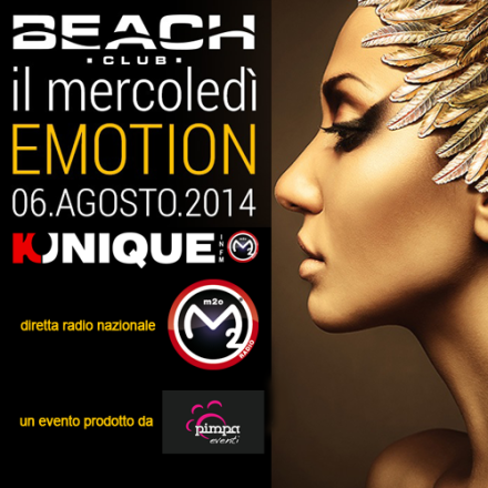 Kunique Radio M2O Live From Beach Club(Versilia) Wednesday August 06 On Air Donati&Amato