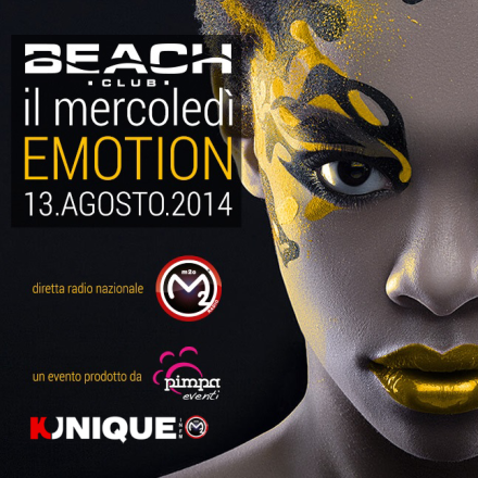 Kunique M2O Live From Beach Club Versilia Wednesday August 13 Guest Provenzano & Diego Donati